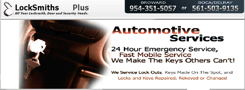 auto locksmith specialist in Fort Lauderdale